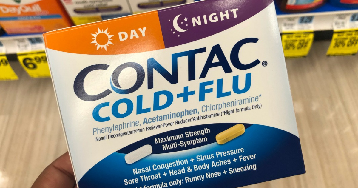 contac cold and flu review