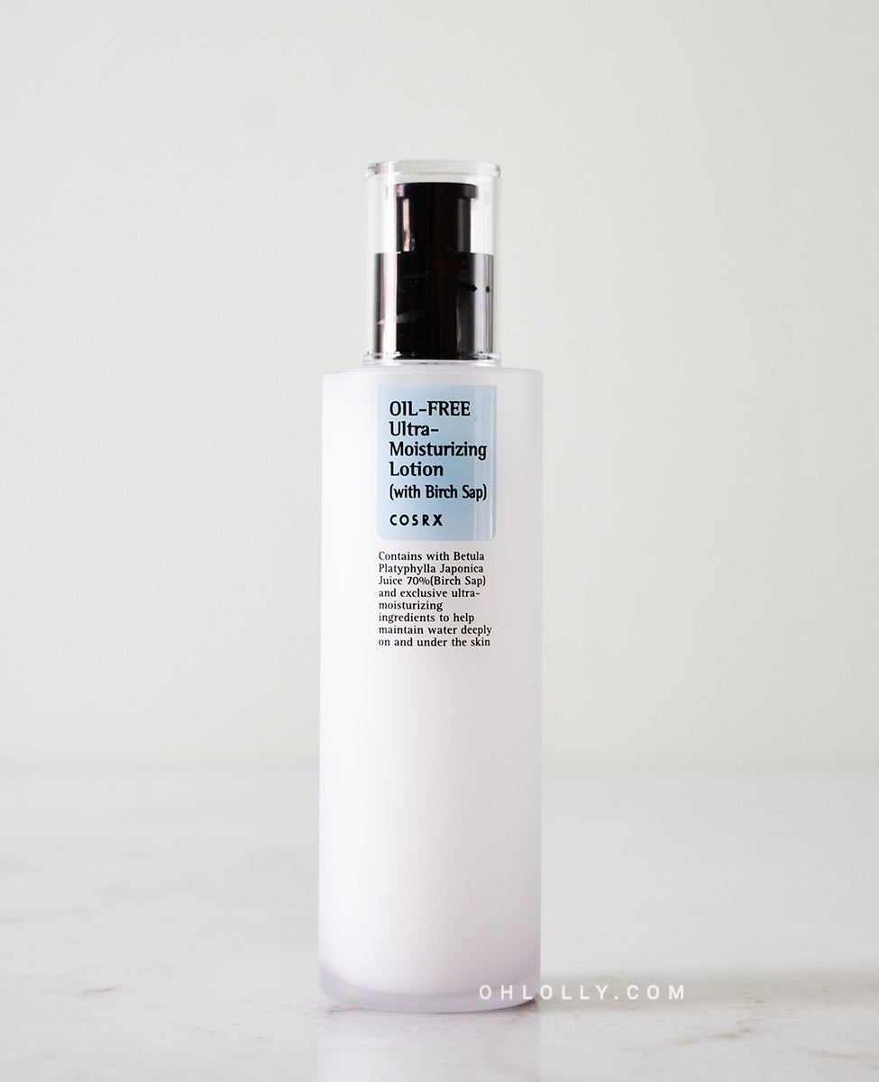 cosrx ultra moisturizing lotion with birch sap review