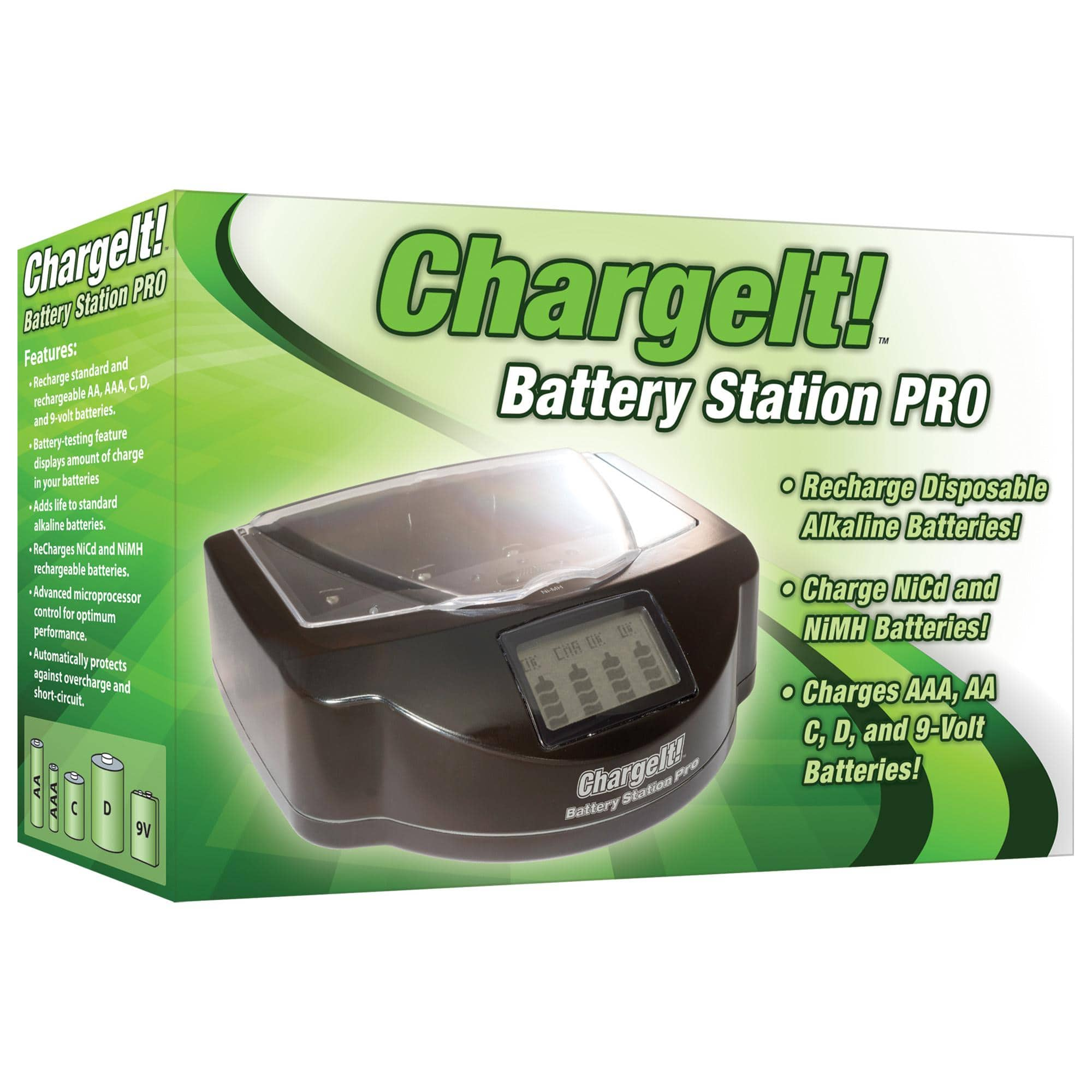 chargeit battery station pro review