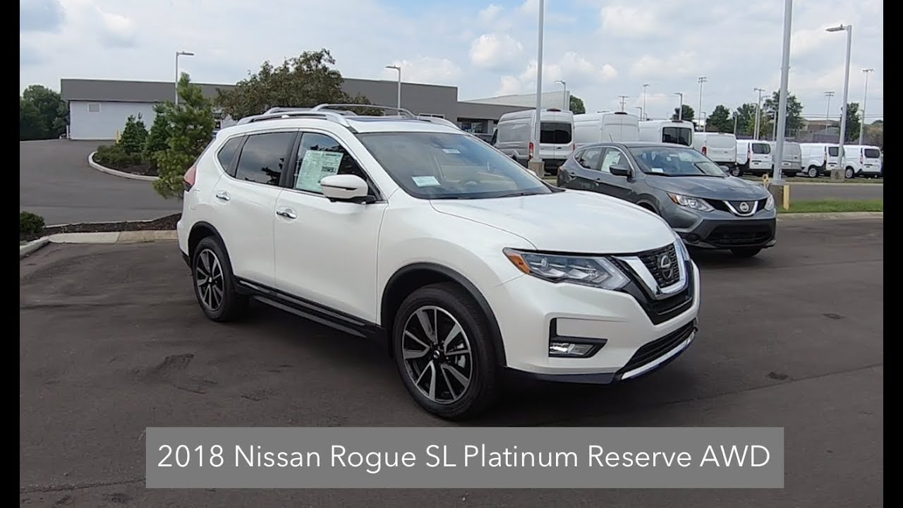 2018 nissan rogue sl awd review