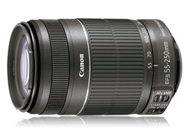 efs 55 250mm canon lens review