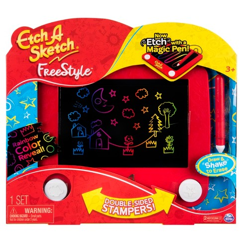 etch a sketch freestyle review