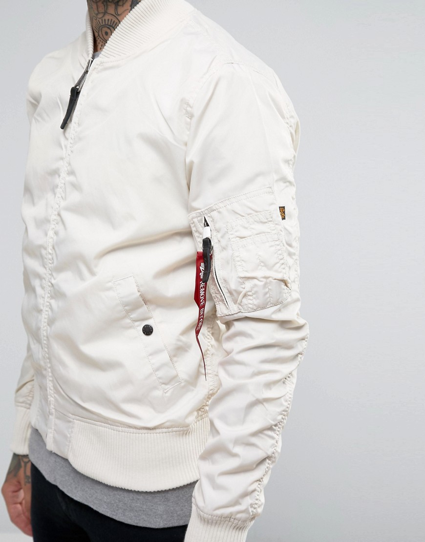 alpha industries ma 1 slim fit review