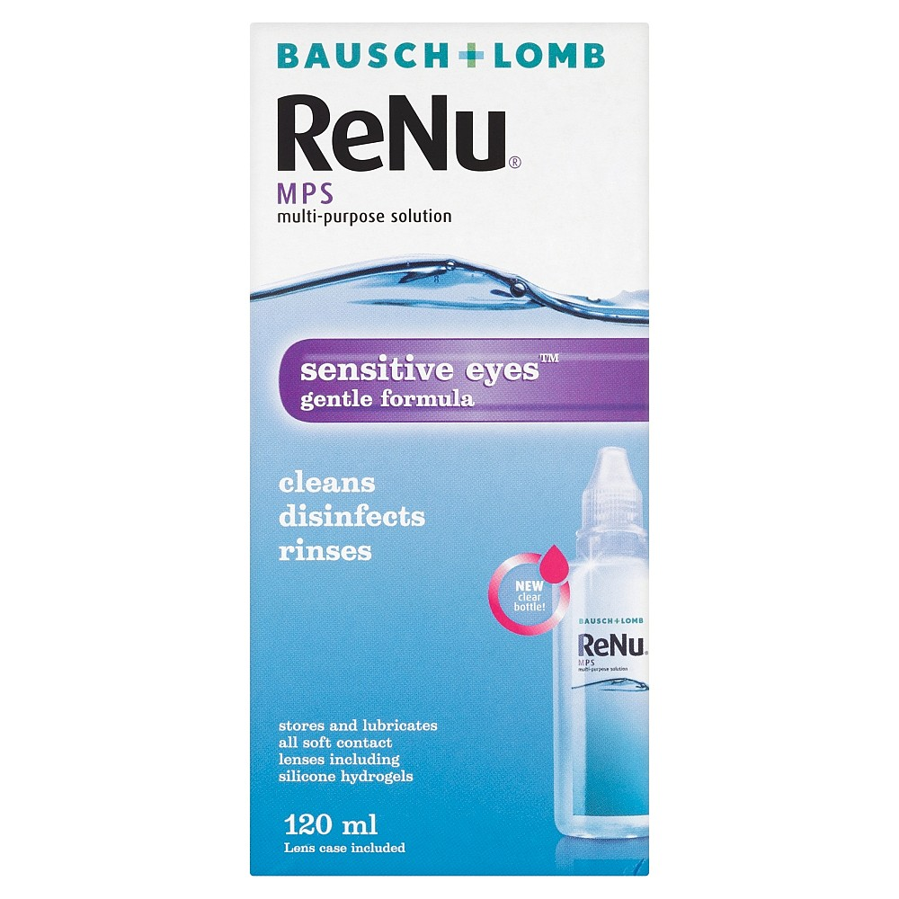 bausch and lomb sensitive eyes multi purpose solution review