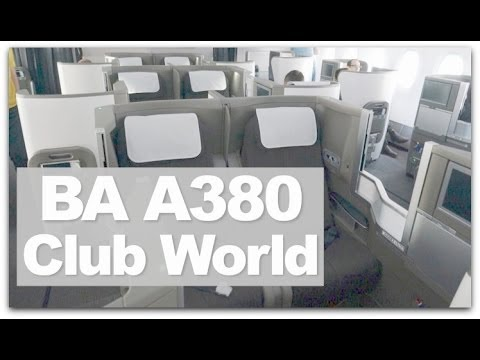british airways a380 business class review