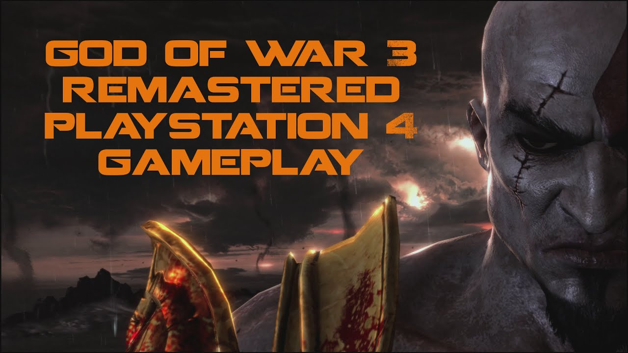 god of war 3 remastered ps4 review