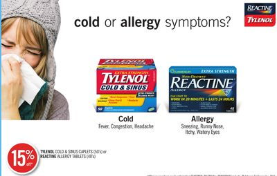 reactine allergy and sinus review